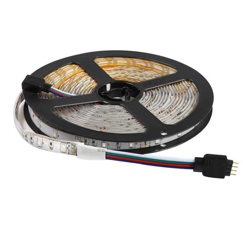 300 светодиодов 3528 Smd Rgb Светодиодная лента + 44 ключа ИК пульт дистанционного управления не водонепроницаемый Dc12V 60 светодиодов Гибкая лента освещения