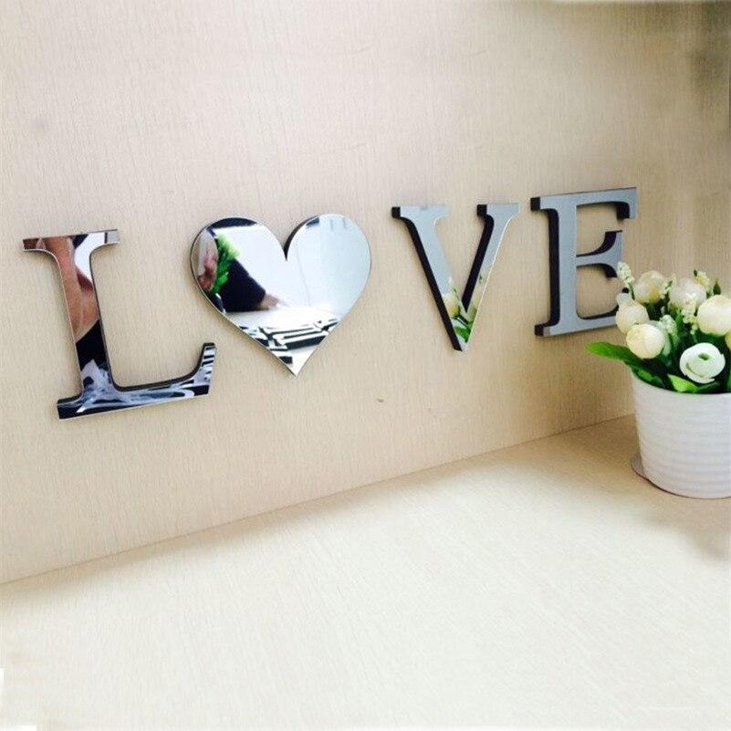 Wedding, DIY, Decal, Home, Acrylic, Letters