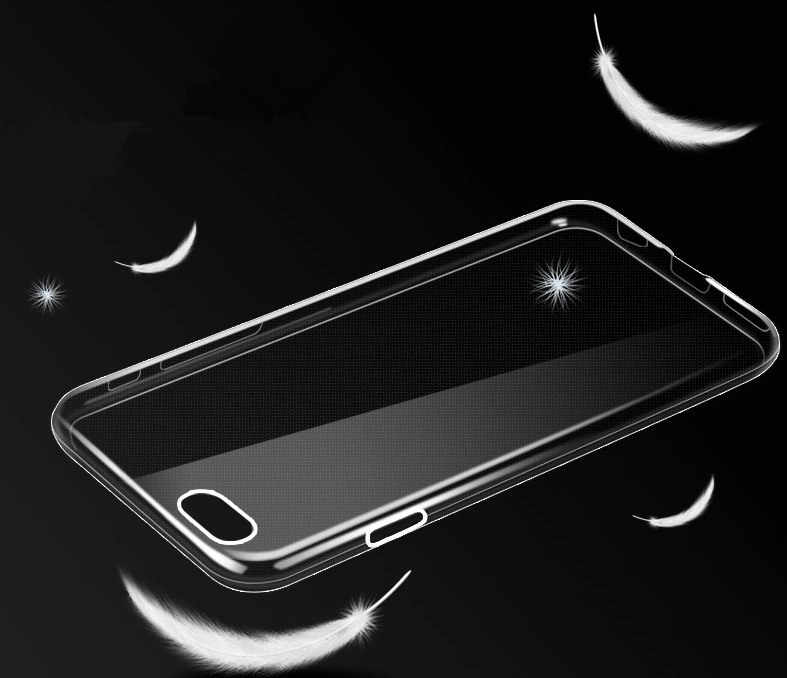 Silicone Transparent TPU Case for IPhone 8 7 7Plus 6 6S 6 Plus 5 5S 5C Ultra Thin Soft Cover Crystal Clear Silicon Phone Cases