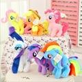 Big Size 6 Colors 2017 Fresh Plush Unicorn Horse Stuffed Animals Toys 30cm Baby Infant Girls Toys Birthday Gift Rainbow Dash