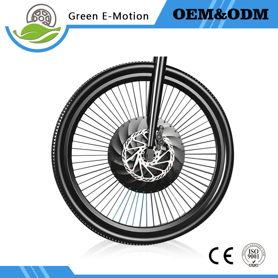 Micro power wheel electric bicycle intelligent accessories Mountain Refit Front wheel E-bike motor with battery and controller free shipping 48v 15ah battery pack lithium ion motor bike electric 48v scooters with 30a bms 2a charger