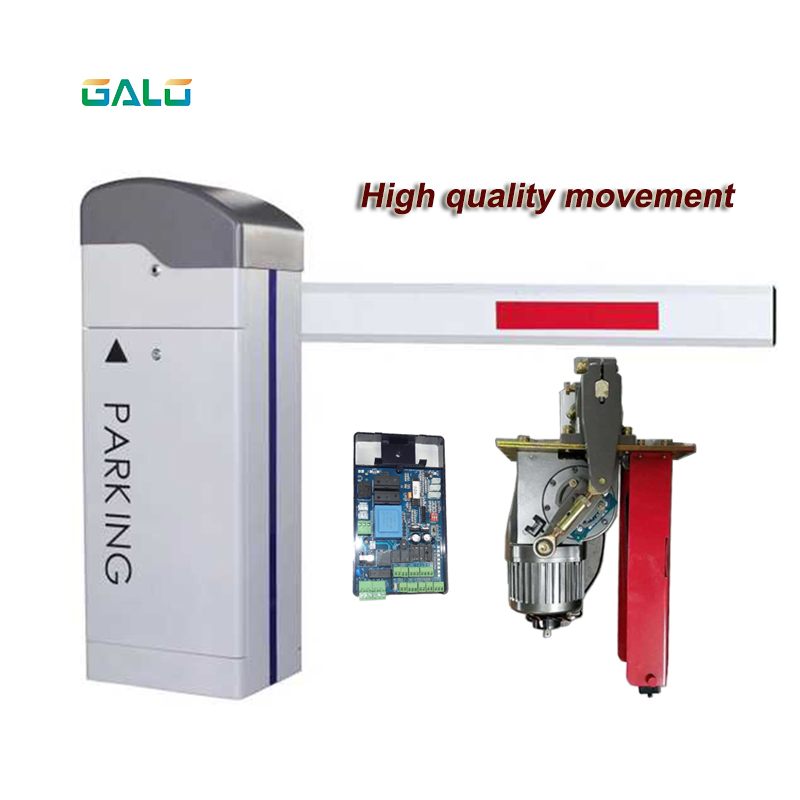 High Quality Automatic Fence Door LED Arm Barrier Door Controller (optional)