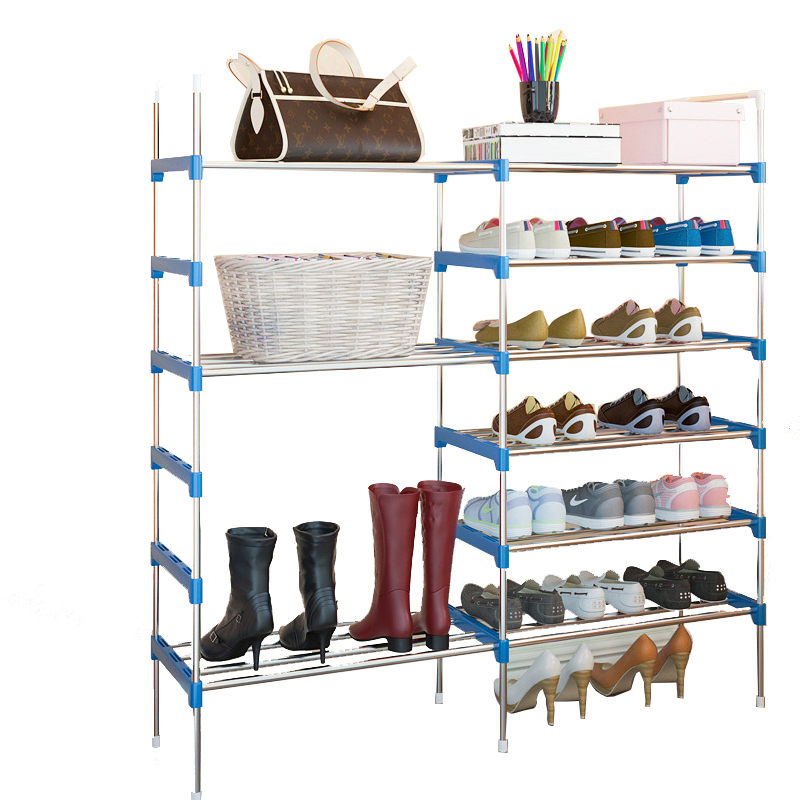 Household Simple Shoe Reck Dormitory Dustproof Assembly Shoe Cabinet Multi-layer Small Shoes Shelf Storage CabinetHousehold Simple Shoe Reck Dormitory Dustproof Assembly Shoe Cabinet Multi-layer Small Shoes Shelf Storage Cabinet