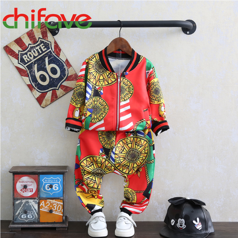 chifave Clothes Children Clothing Kids Long Sleeve Sets