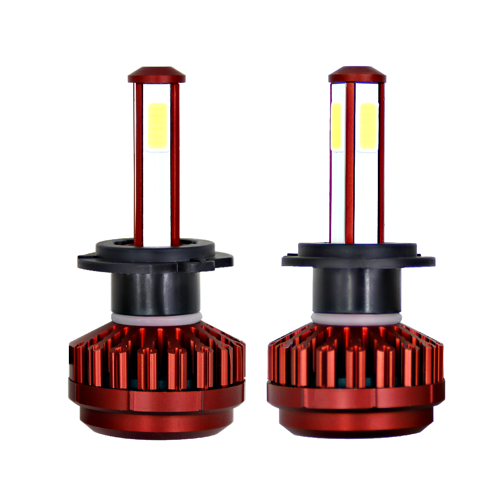 360 Degree Lighting 100W 12000LM H4 Led Bulb H7 H8 H9 H11 HB3 HB4 Auto Headlights Car Led Light 12V Fog lamp Automobiles цены