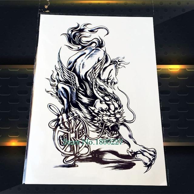 Dragon Tattoo Over Shoulder: Aliexpress.com : Buy 1PC New Arrival Dragon Beast