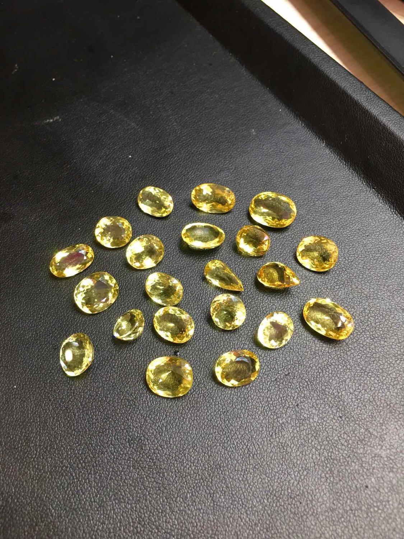 Aigue-marine jaune 50.8ct Ntural jaune aigue-marine pierres précieuses en vrac pierres précieuses en vrac