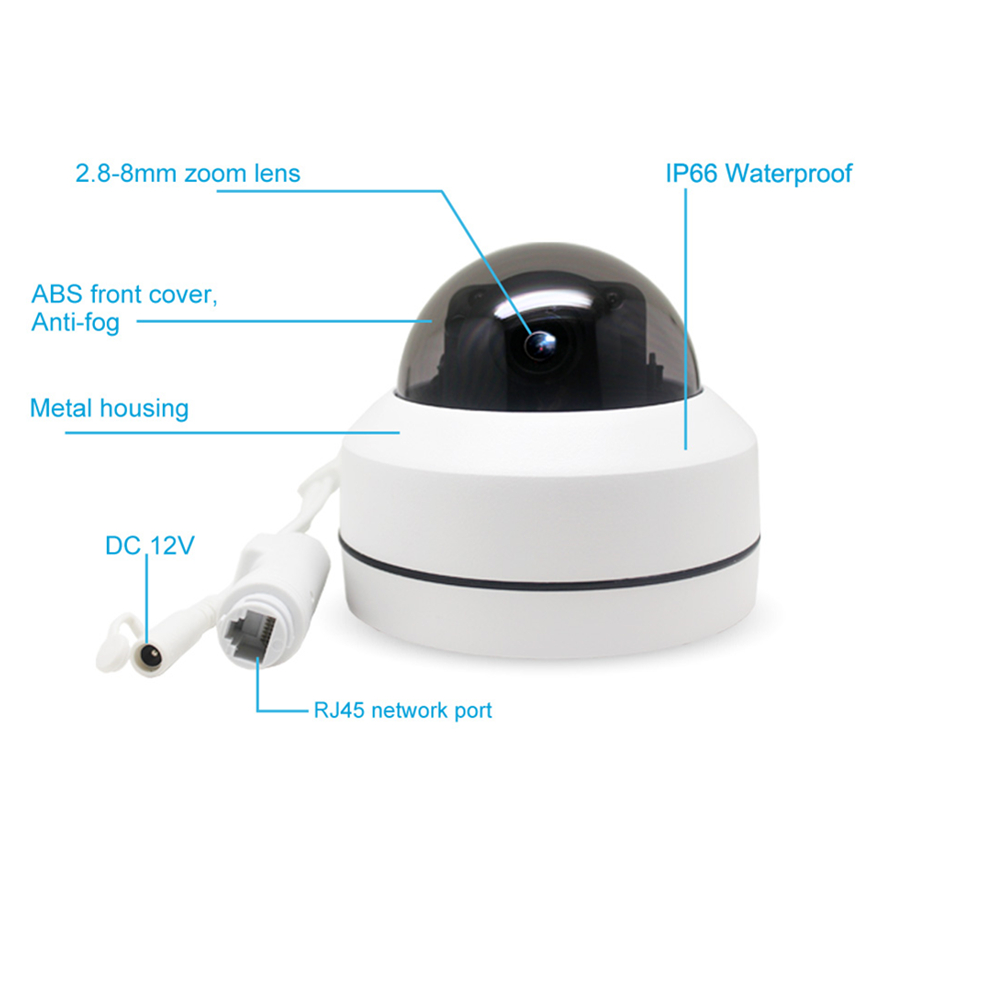 Image 5 - SUCAM Mini Pan Tilt Motorized 4X Zoom 2MP 4MP PTZ IP Camera Indoor High Resolution Security IR CCTV POE Camera ONVIF 30M IR-in Surveillance Cameras from Security & Protection