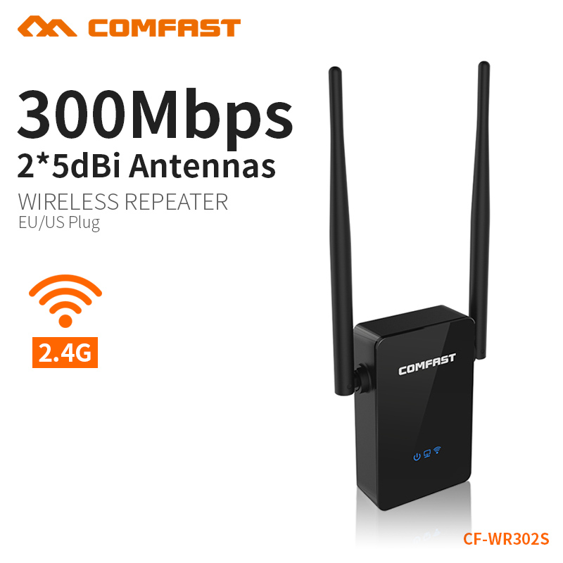 Wireless WIFI Repeater 300Mbps Network Antenna Wifi Extender Signal Amplifier 802.11n/b/g Signal Booster Repetidor Wifi 6PCS