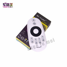 цена на Mi Light 2.4G RF 4-Zone Wireless Remote Controller Single Color LED Dimmer for Mi-light WW/CW led bulb / Single Color led strip