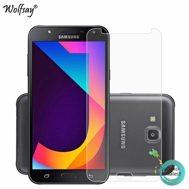 2PCS For Glass Samsung Galaxy J7 Neo Screen Protector Tempered Glass for Samsung Galaxy J7 NXT(Neo) Protective Film J7 Neo J701F