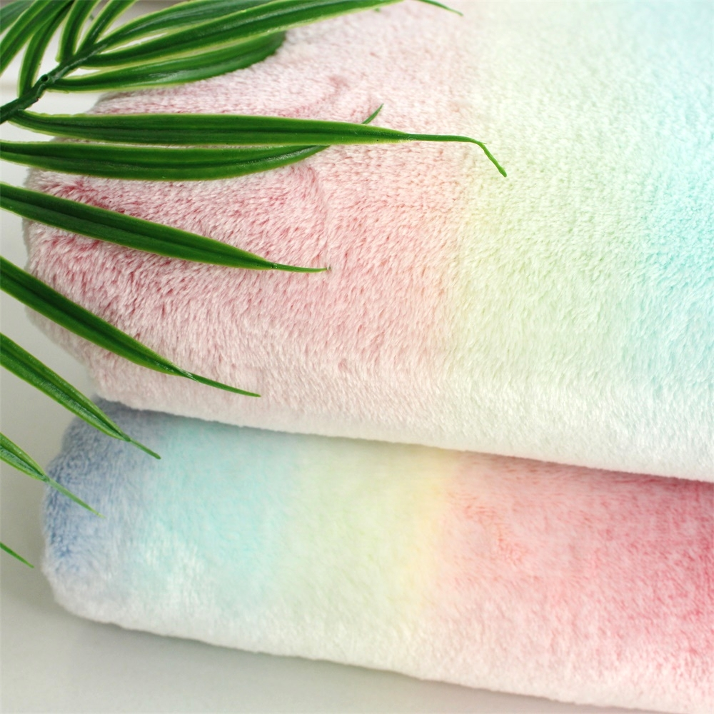Wiegdeken Winter Us 10 98 Aliexpress Buy Super Soft Flannel Beautiful Fluffy Minky Rainbow Color Dream Blanket Toddler Kids Blanket Baby Deken Winter Thick