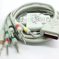 GE Marquette MAC1200/1200ST ECG machine patient cable , one piece ten lead cable with leadwire