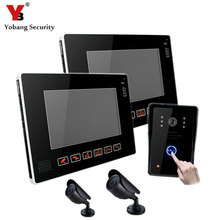 YobangSecurity 9″ Video Audio Intercom Doorbell Video Door Phone Bell Access Control With CCTV Camera for Home Security System
