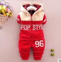 2016 Spring Autumn Kids Children Baby Boy Set Sport Suits Clothing Set Tracksuit Toddler Boy Clothes
