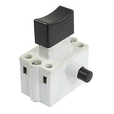 AC 220V/380V 10A DPST Lock on Manual Trigger Switch for 380 Cutting Machine коммутатор ac 220v 10 110 20 1 1nc dpst