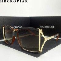 2018 luxus Marke Oval Sonnenbrille Frauen Übergroßen Großen Halben rahmen UV400 Vintage sonnenbrille leopardenmuster Brille mit box gg