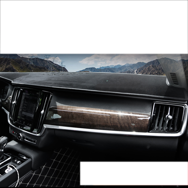 Lsrtw2017 Polyester Car Dashboard Mat For Volvo Xc60 2018