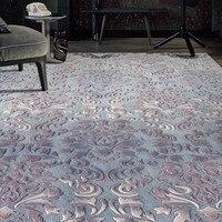 Romantic 3D pattern wedding carpet ,big size luxury wool thicken handmade living room rug, home decoration carpet
