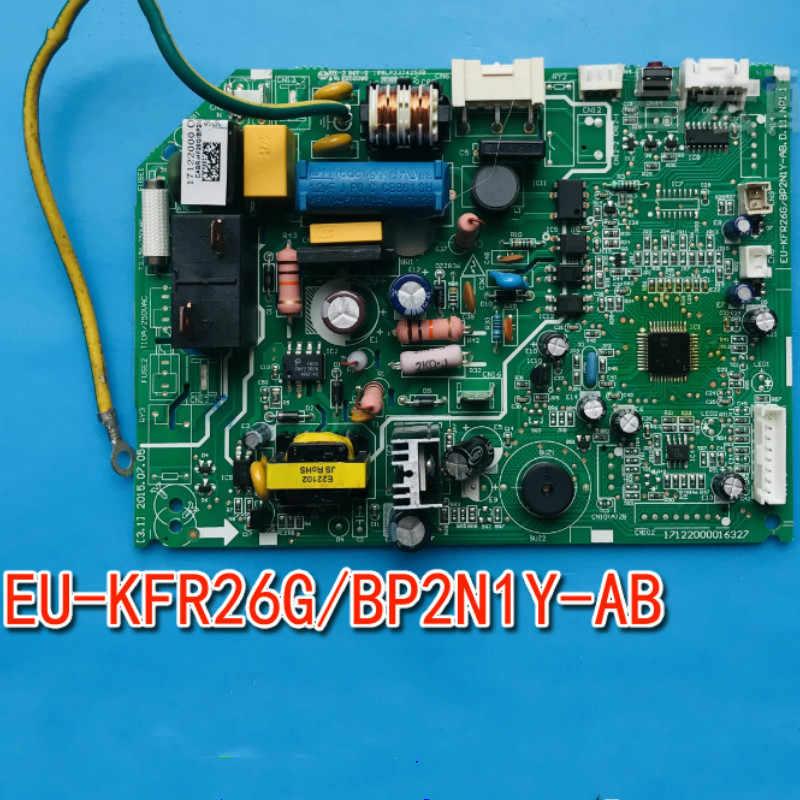 90% novo condicionador De Ar Midea placa Modular EU-KFR26G/placa de controle do Ar Condicionado Montagem EU-KFR26G BP2N1Y-AB BP2N1Y-AB