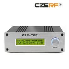 CZE-T251 25 Вт регулируемый стерео моно излучатель беспроводной вещания радиостанции полный комплект