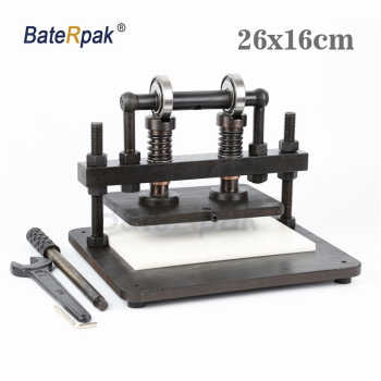 26x16cm Double Wheel Hand leather cutting machine,BateRpak photo paper,PVC/EVA sheet mold cutter,leather Die cutting machine - DISCOUNT ITEM  5% OFF All Category