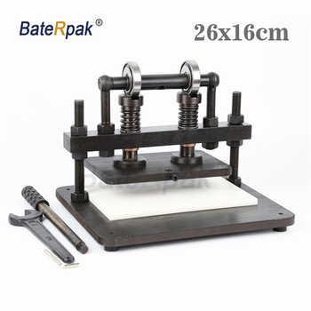 26x16cm podwójne koło ręczna maszyna do cięcia skóry, BateRpak papier fotograficzny, pcv/arkusz eva foremka, maszyna do cięcia skóry - DISCOUNT ITEM  5 OFF All Category