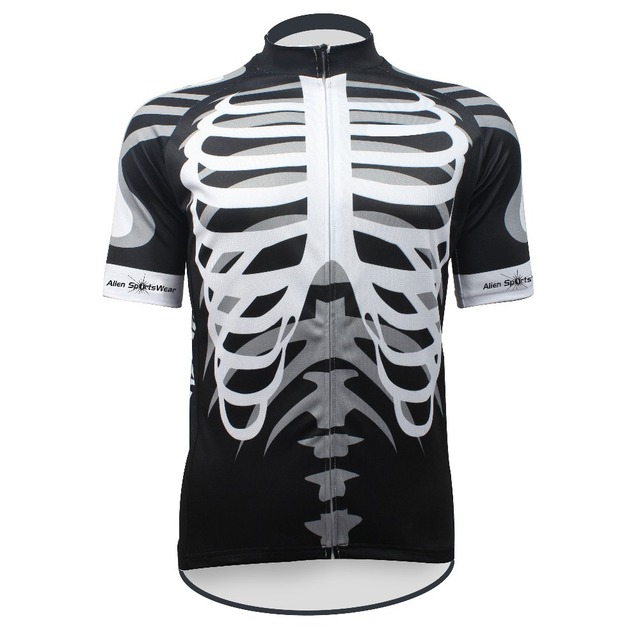 2018 Custom Cool Design Sublimated Skeleton hot Sport Bike Jersey Tops  Cycling Wear Mens Cycling Jersey Cycling Clothing Bike Sh f40bab6f8