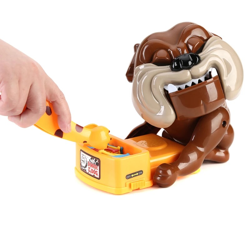 New Be Careful Bulldog Most Industries Scary Toys Be Careful The Dog Hot Style Desktop Parent-child Game
