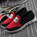 female fashion casual sport and outdoor breathable shoes spring and summer slip on soft bottom flat shoes sapatos femininas