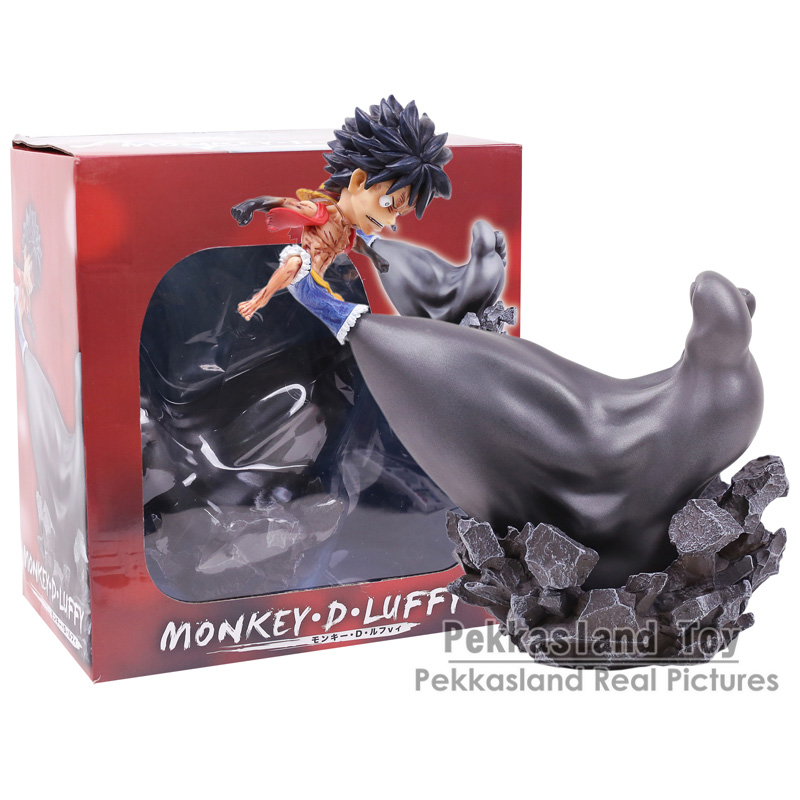 Anime One Piece Monkey D Luffy Gear Third Big Foot Ver. 1/8 Scale PVC Figure Collectible Model Toy 24cm стоимость