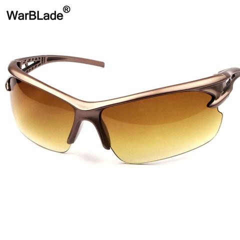 WarBLade New Night-Vision Sun Glasses Outdoor Sports Fishing Sunglasses Night Drivers Anti Glare Driving Goggles Eyewear Oculos Karachi