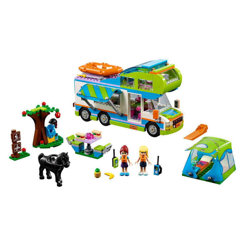 01062 Good Friends Girl Series The Motorhome Building Blocks Bricks Funny Toys Children Birthday Compatible with Legoe 41339 the girl with the wrong name