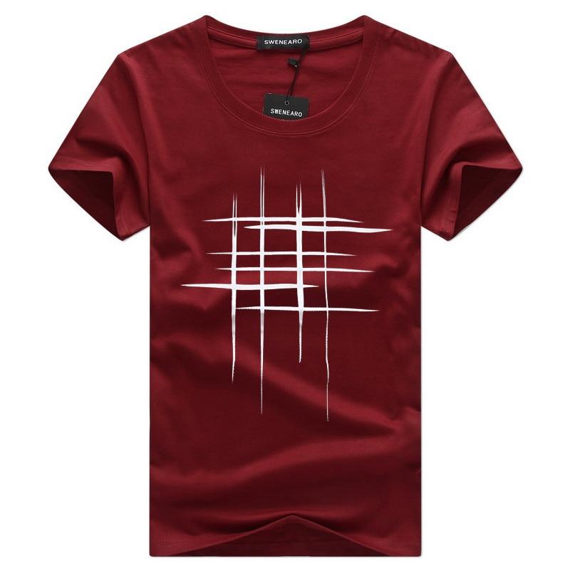 2019 Naujas laiškas Spausdinti marškinėliai Vyriški juodi ir - Vyriški drabužiai - Nuotrauka 6