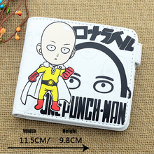 One Punch Man Saitama Sensei PU Anime Cosplay Wallet