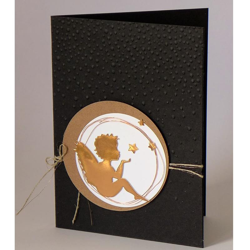 Angel Blow A Kiss Metal Cutting Dies Stencils Ribbon DIY Scrapbooking Die Cuts Greeting Card Decor Embossing Folder Cut