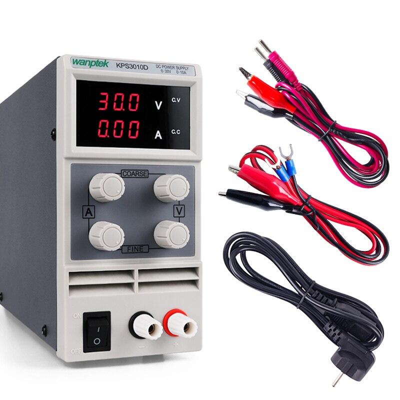 Mini affichage numérique DC alimentation à découpage 30V 60V 120V 3A 5A 10A banc d'alimentation réglable pour alimentation de laboratoire
