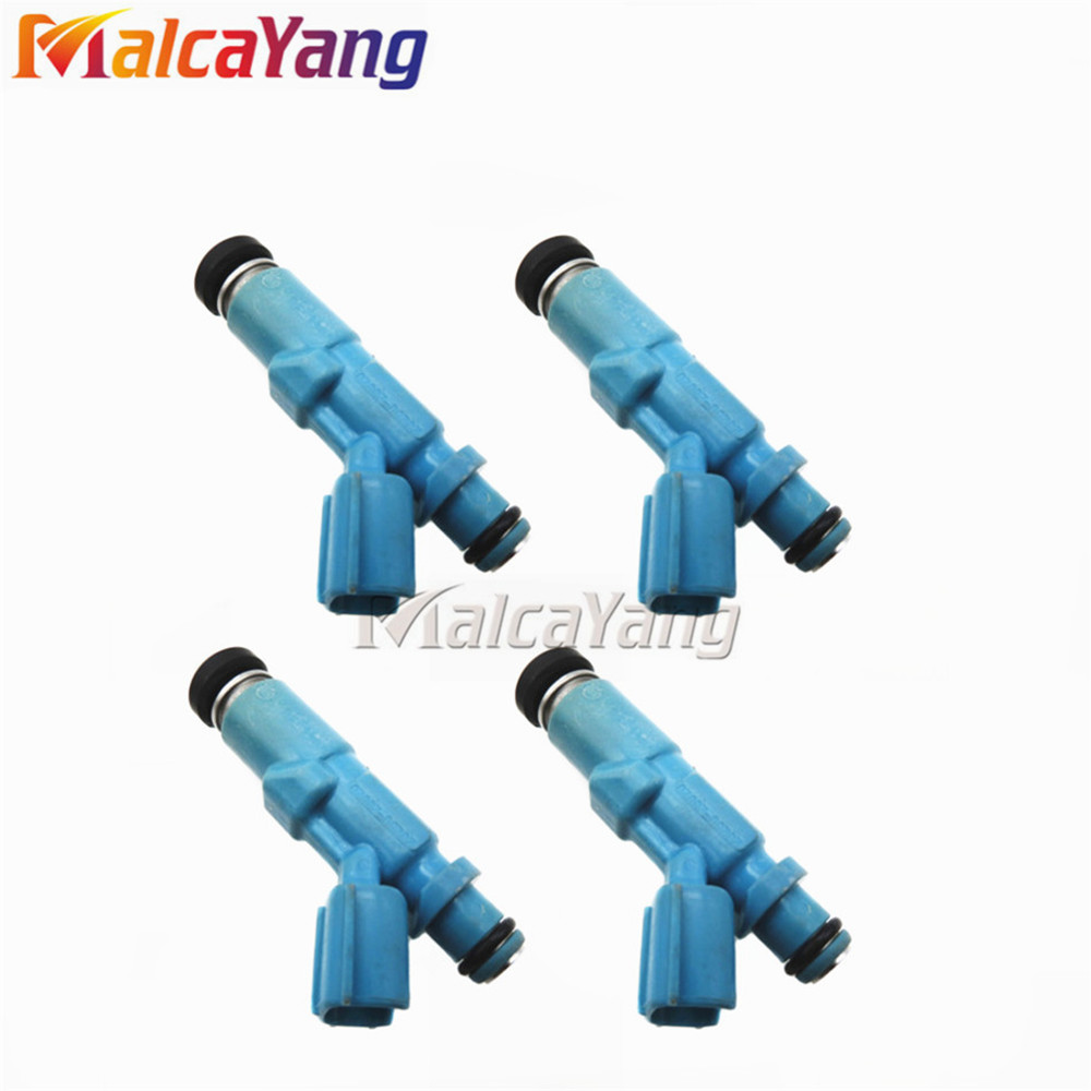 Car Spare Parts 100 Working 4PCS LOT 23250 23020 Petrol Fuel Injector Nozzle For Toyota Yaris