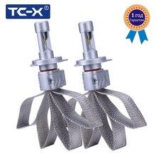 TC-X ZES Luxeon LED Reflektor H4 Wysokiej/Mijania H7 H11 Bez Wentylatora Konstrukcja Szybkie Promieniowania Ciepła Auto Car Styling reflektor