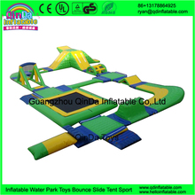 Open Water Inflatable Floating Water Park, Water Sports Park For Sale