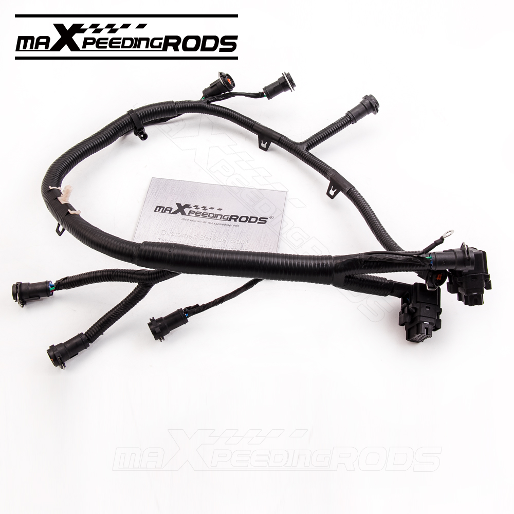 for 03 07 6 0l ford powerstroke diesel fuel injector wiring harness f250 f350 f450 f550 5c3z 9d930 a [ 1000 x 1000 Pixel ]