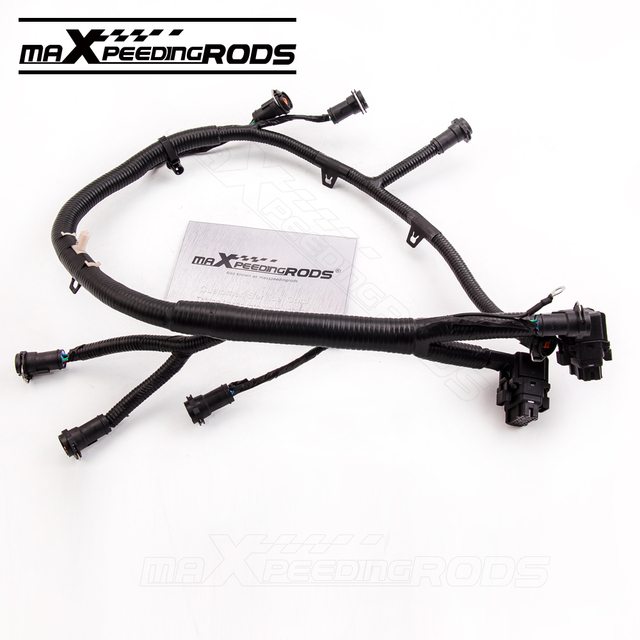 For 03 07 6 0L Ford Powerstroke Diesel Fuel Injector Wiring Harness F250 F350 F450 F550_640x640 aliexpress com buy for 03 07 6 0l ford powerstroke diesel fuel 2003 ford f250 fuel injector wiring harness at crackthecode.co