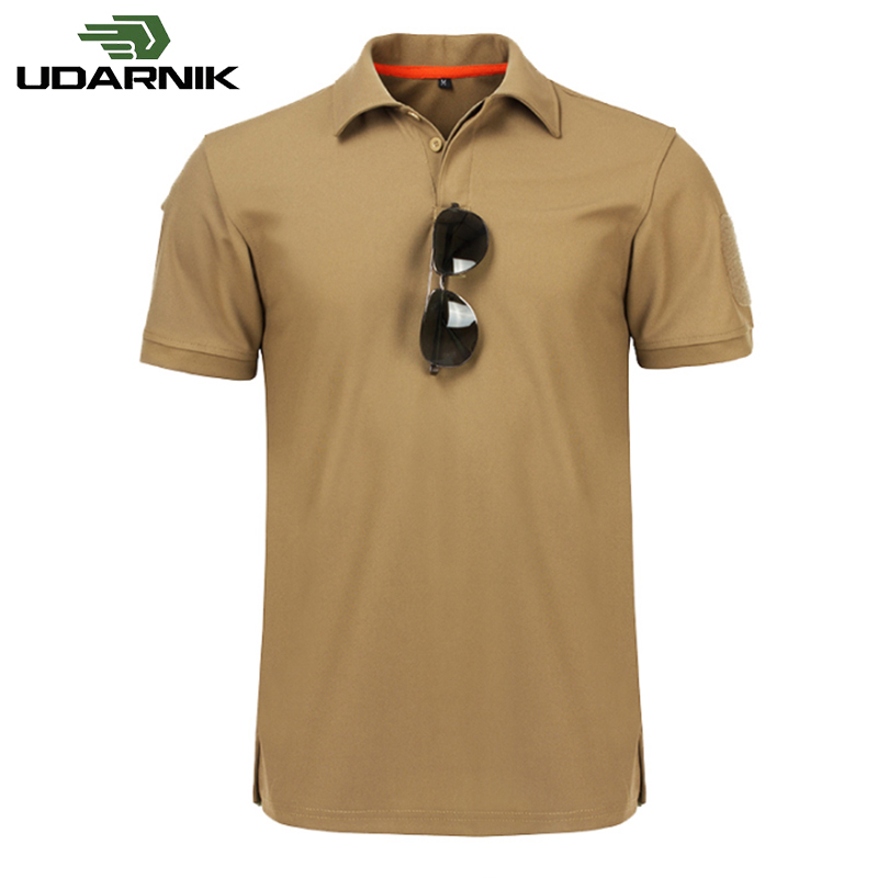 Casual Shirt Men's  Military Shirt  Army Tactical Tops Quick Dry Cargo Combat Short Sleeve Training Breathable Military 925-139