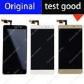 5.5 polegada de ouro preto branco display lcd original + montagem da tela de toque para xiaomi redmi note 3