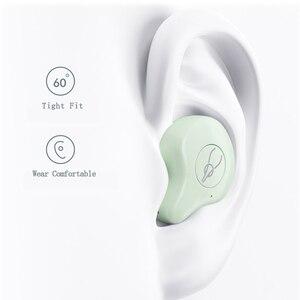 Image 3 - Mini Portátil Sem Fio Bluetooth fone de Ouvido Para O Telefone Inteligente