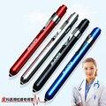 Doctors клинические световое перо, СВЕТОДИОДНЫЙ фонарик, рот/ухо уход инспекции лампы, медицинский ручка свет, используя 2 батарейки ААА, 138*13 мм
