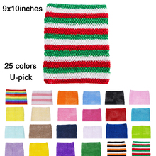 1pc Crochet tube top tutu 10inch crochet headband girls pettiskirt tops free shipping