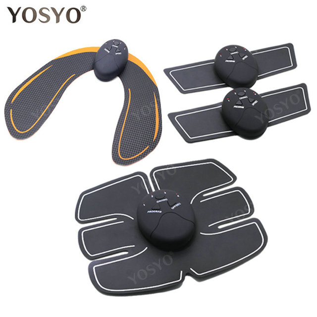 EMS Hip Trainer Muscle Stimulator ABS Fitness Buttocks Butt Lifting Buttock Toner Trainer Slimming Massager