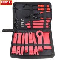 19pcs /Bag Car Disassembly Tools DVD Stereo Refit Kits Interior Plastic Trim Panel Dashboard Installation Removal Repair Tools