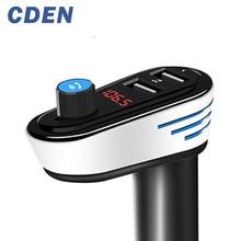 Здесь можно купить  Multifunction Wireless Bluetooth Hands Free Car Charging MP3 music Player FM Transmitter Support SD LCD Dual USB Car Charger
